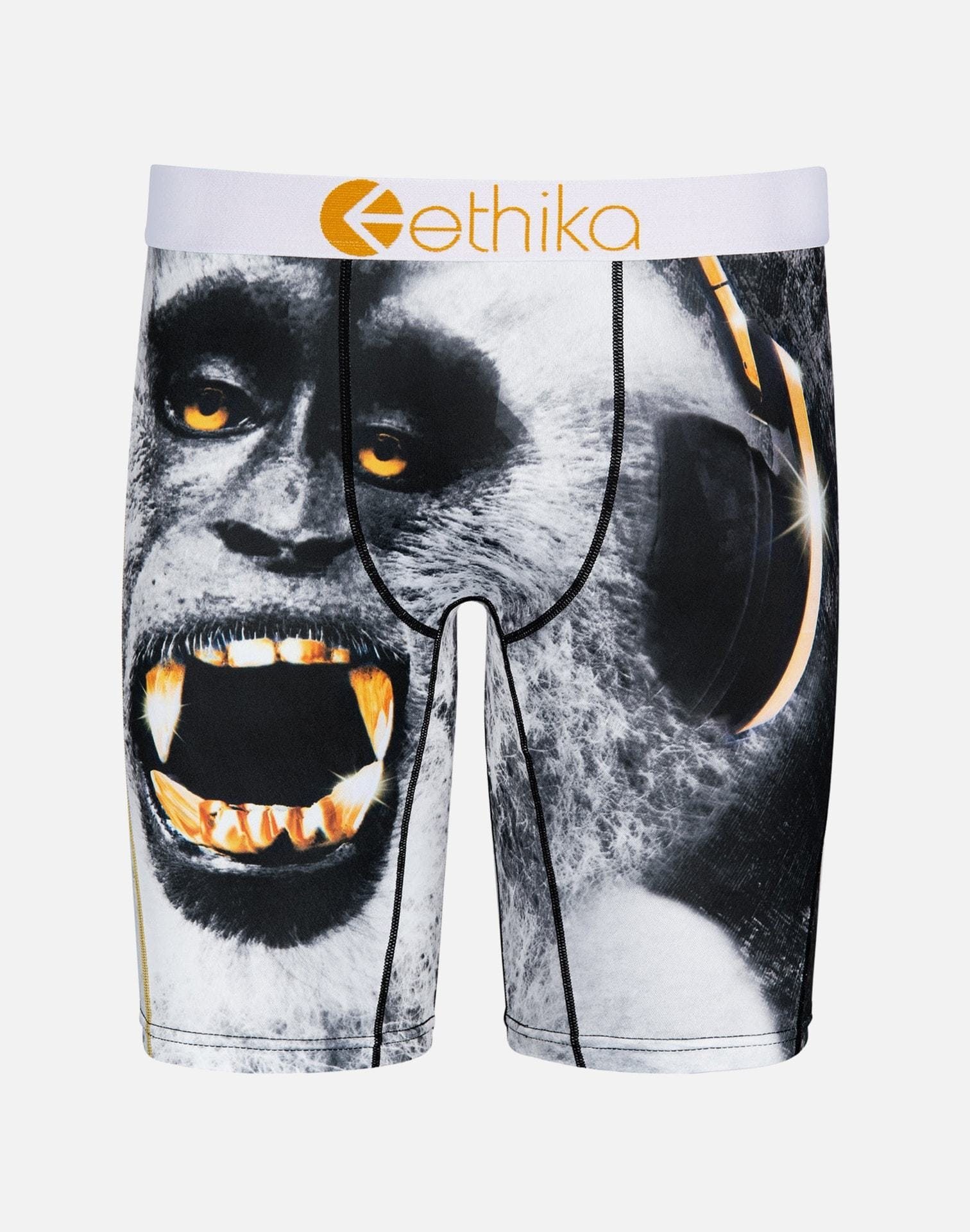 Ethika Men's Monkey King Boxer Briefs