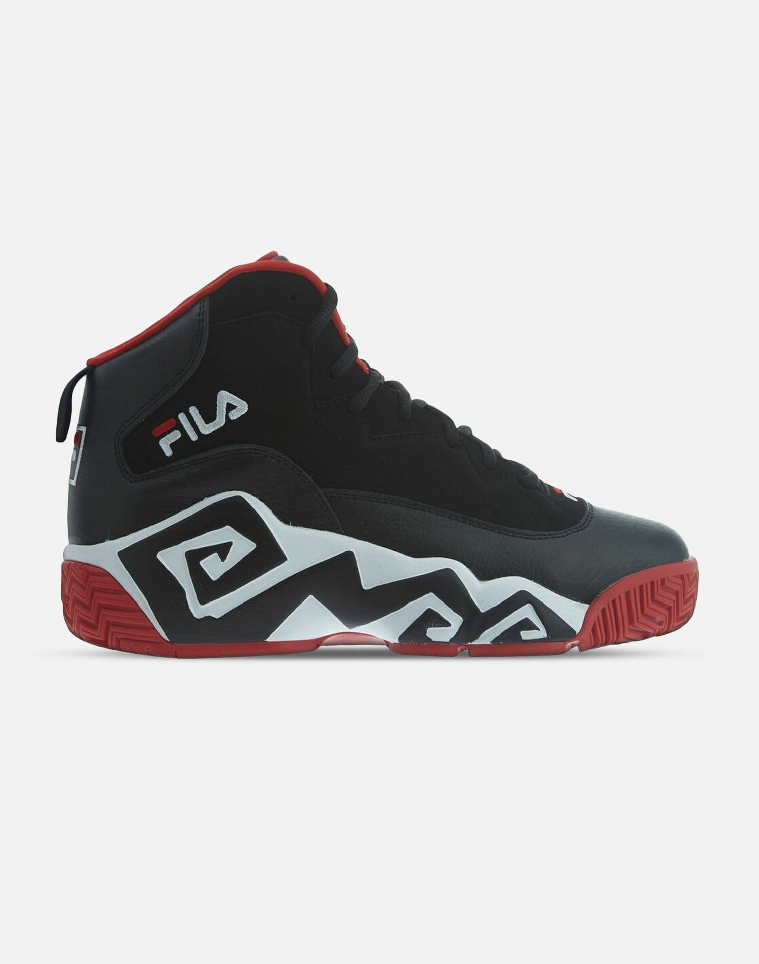 Fila Men's MB Leather Retro High Top Basketball Trainers Shoes Sneakers