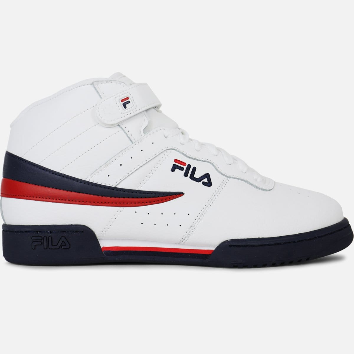 Fila F-13V (White/Footwear Navy-Footwear Red)