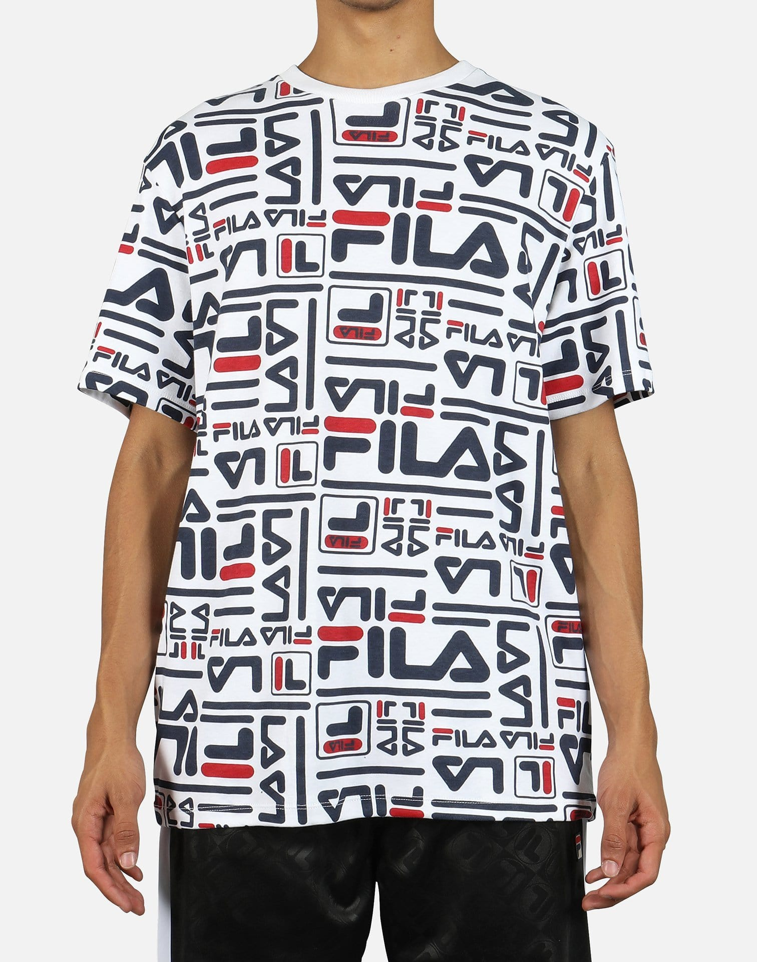 FILA Men's Charlie All Over Print Tee