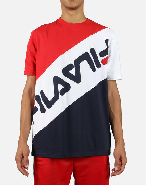 FILA Men's Rowan Striped Tee