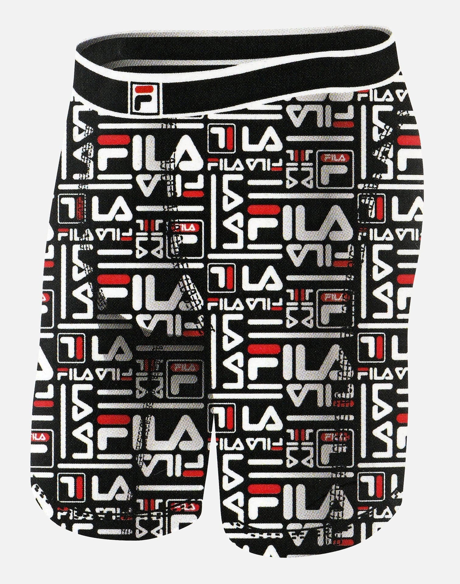 FILA Men's Repeat Logo Boxer Briefs