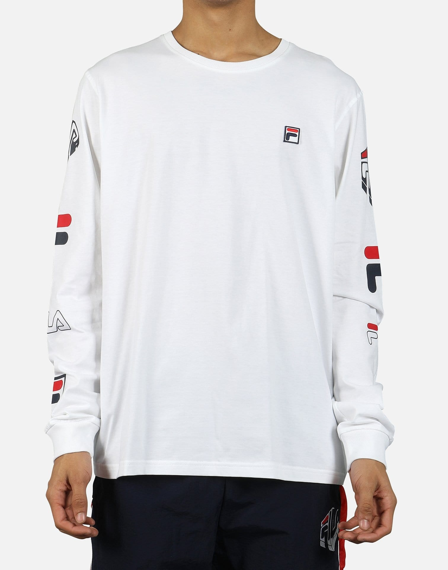 FILA Men's Alves Long-Sleeve Shirt