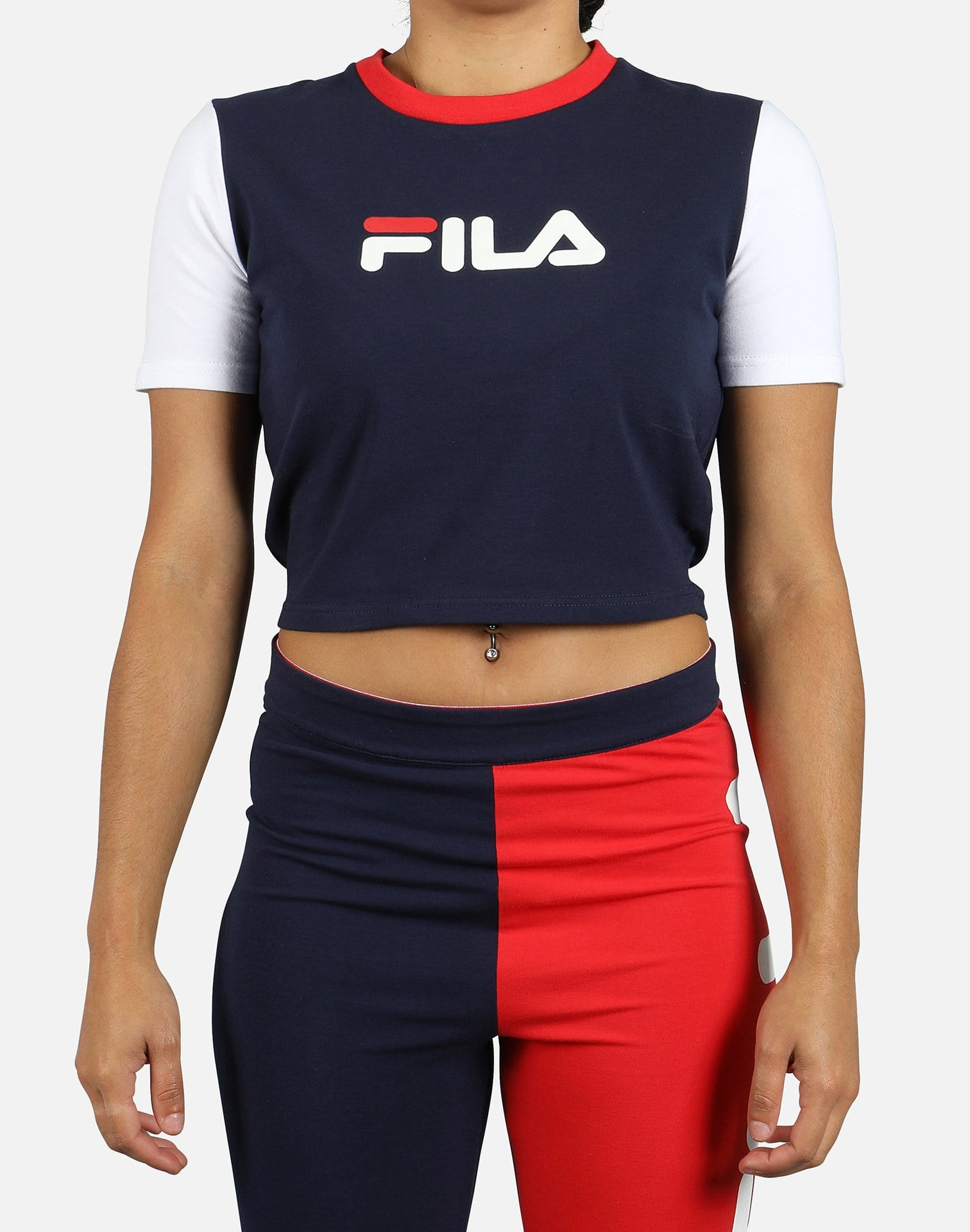 FILA Women's Anna Crop Top