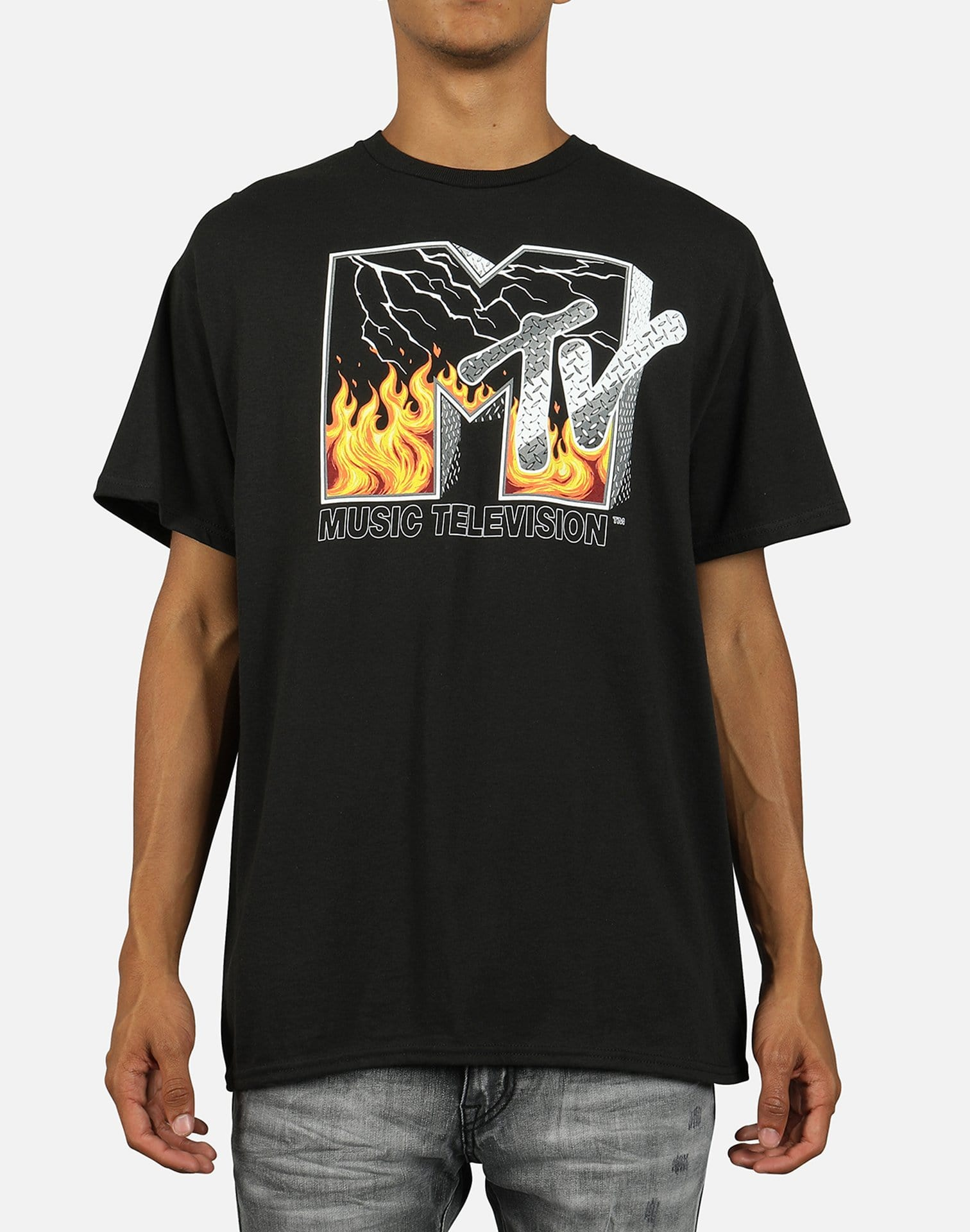 Gonzales Men's MTV Flames Tee