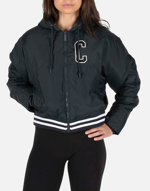 Champion Women's Filled Fashion Block logo Jacket