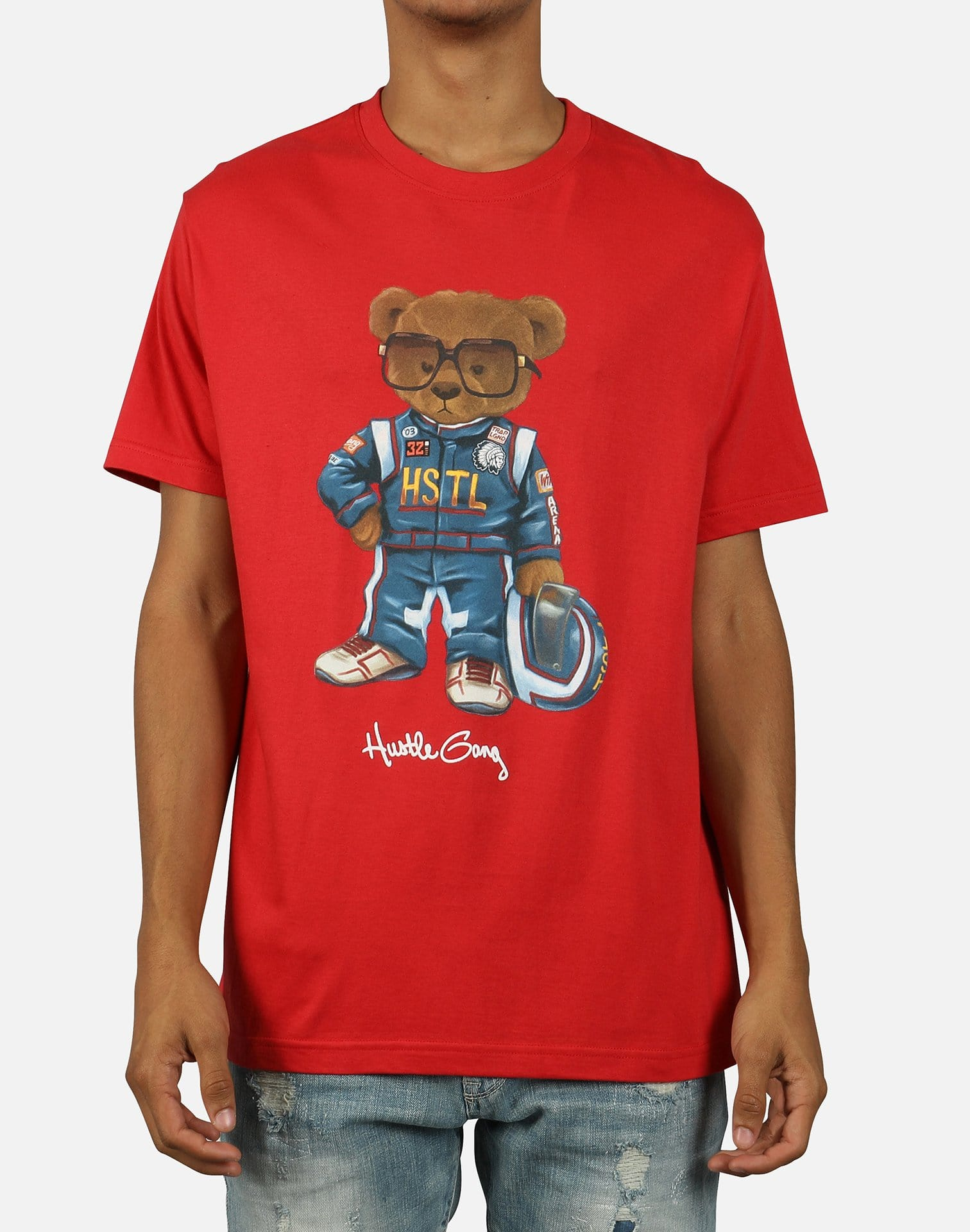 Hustle Gang Men's Daytona Bear Tee