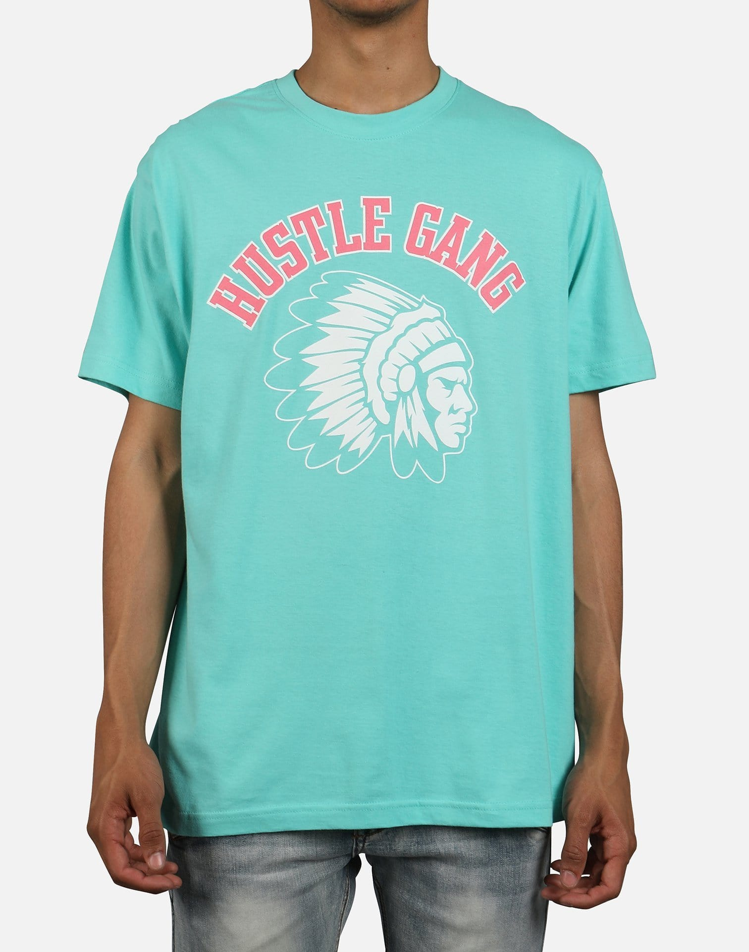 Hustle Gang Men's New 19 Big Chief Tee