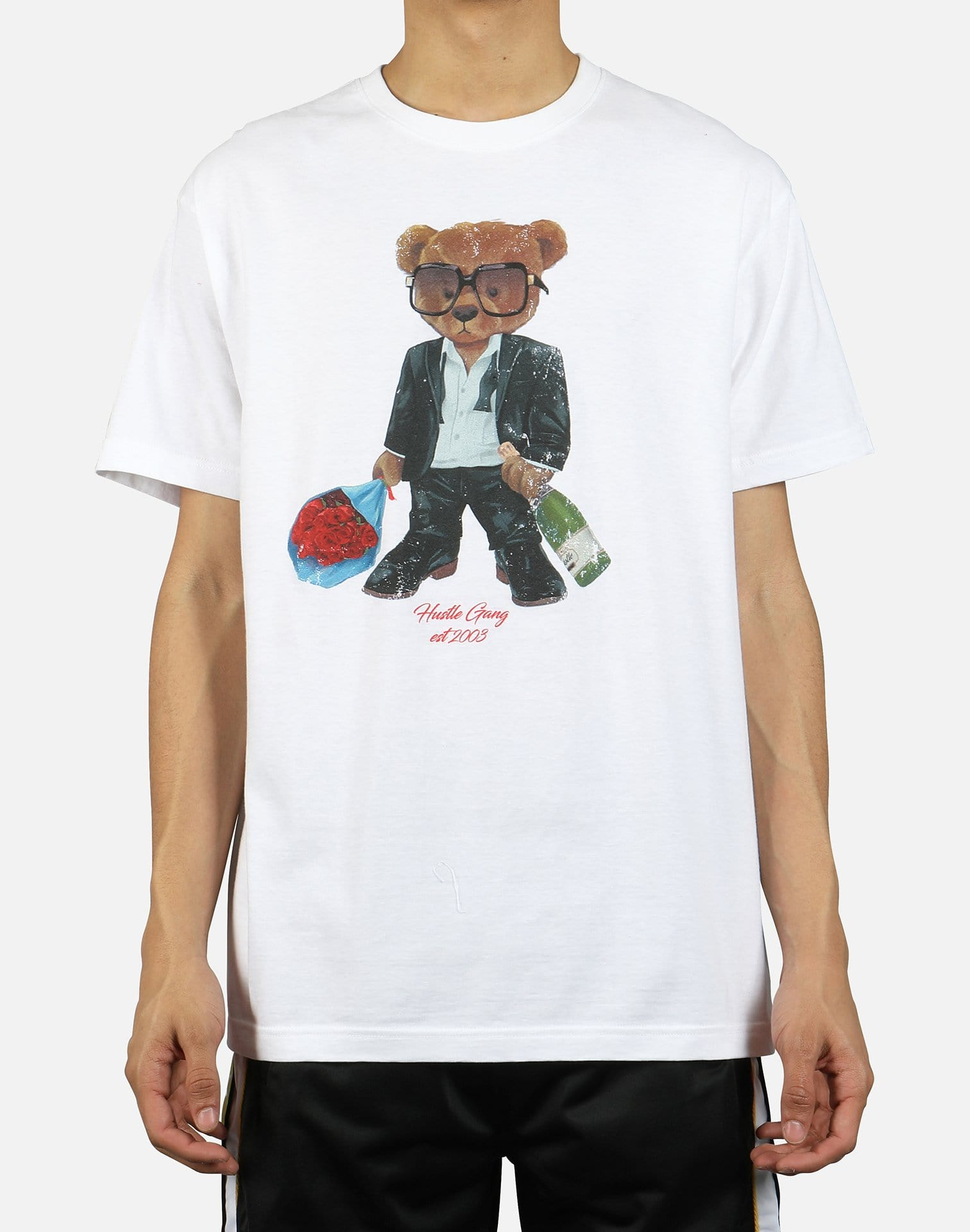 Hustle Gang Men's Date Teddy Tee