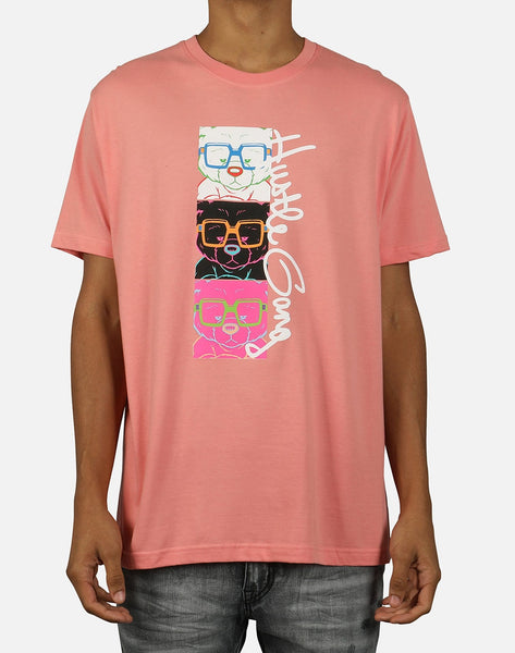 Pink Dolphin Men's 3 Level Tee