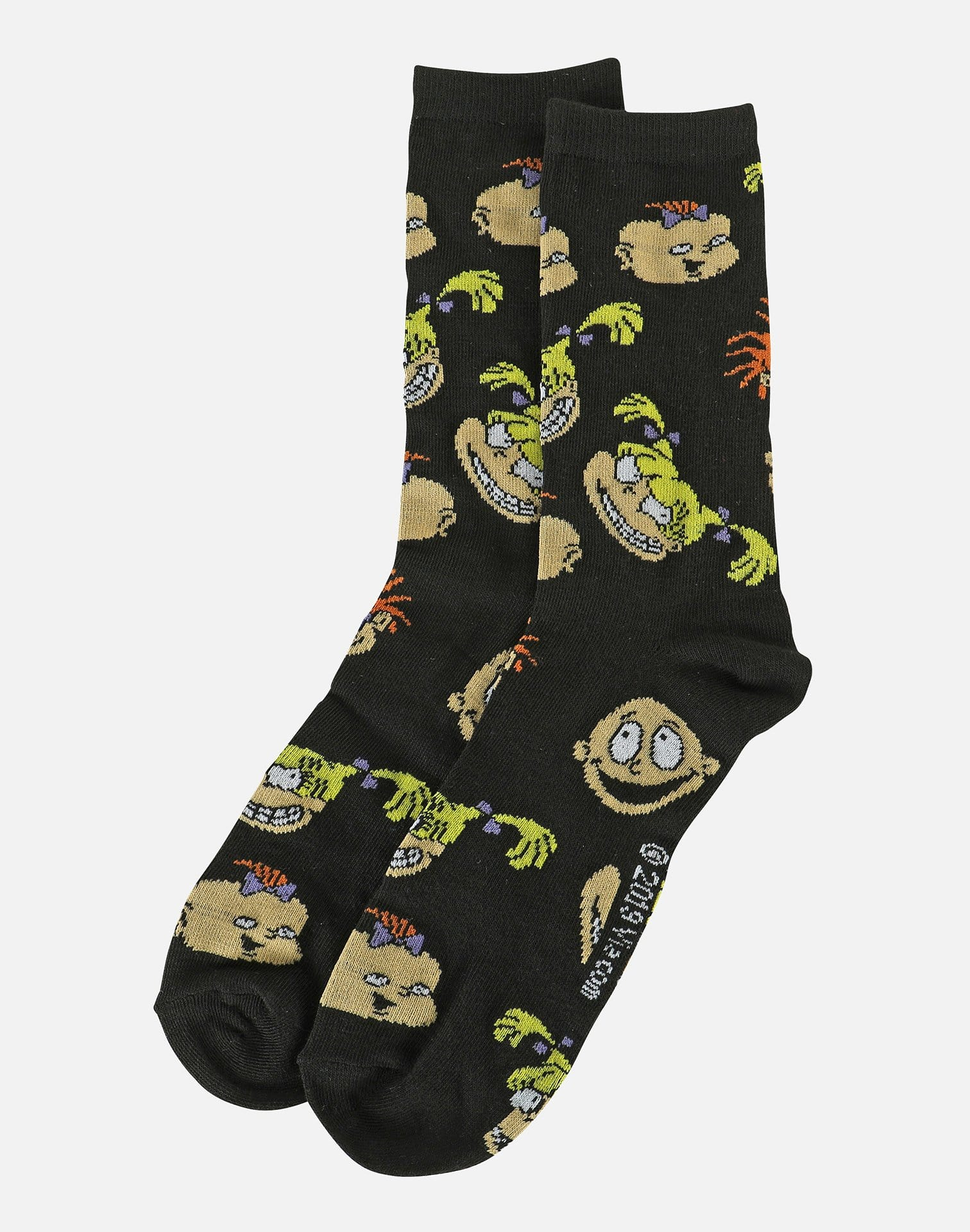 Hypnotic Hats Ltd Men's Rugrats 2-Pair Pack Socks