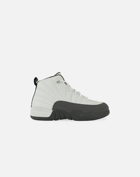 AIR JORDAN RETRO 12 'DARK GREY' PRE-SCHOOL