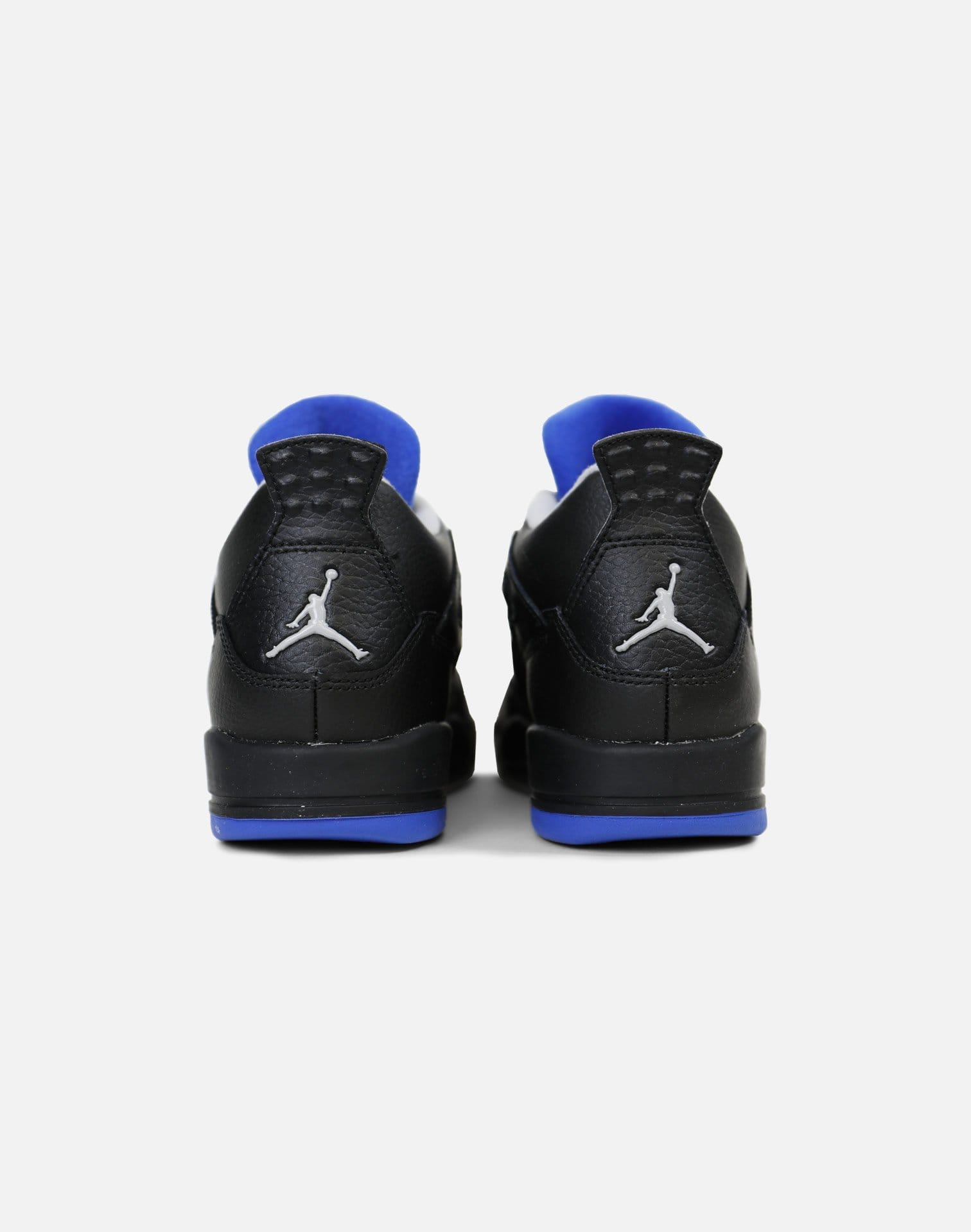 Jordan Air Jordan 4 Retro 'Motorsport Away' Pre-School (Black/Game Royal-Matte Silver)