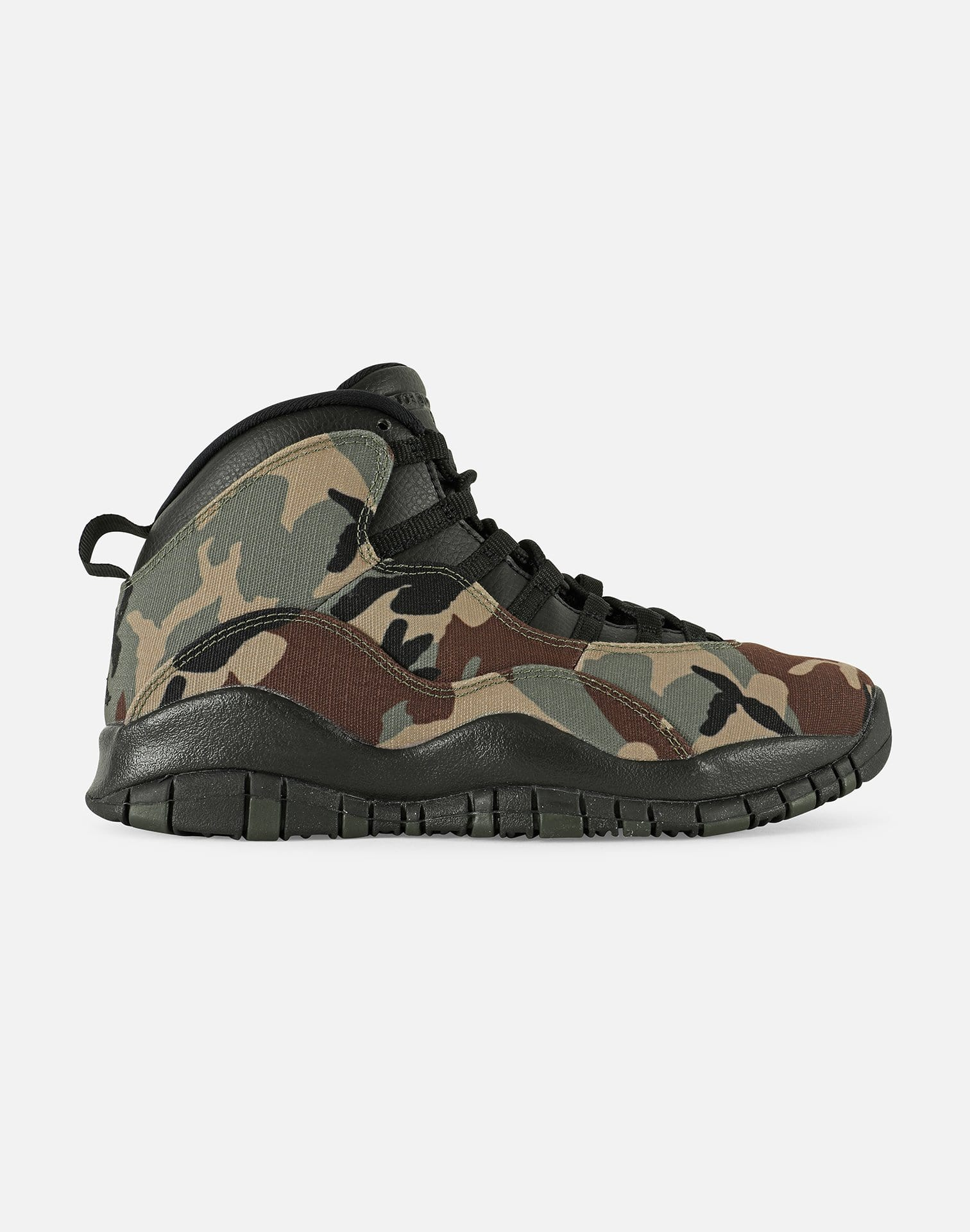 Jordan Men's Air Jordan Retro 10 'Woodland Camo'