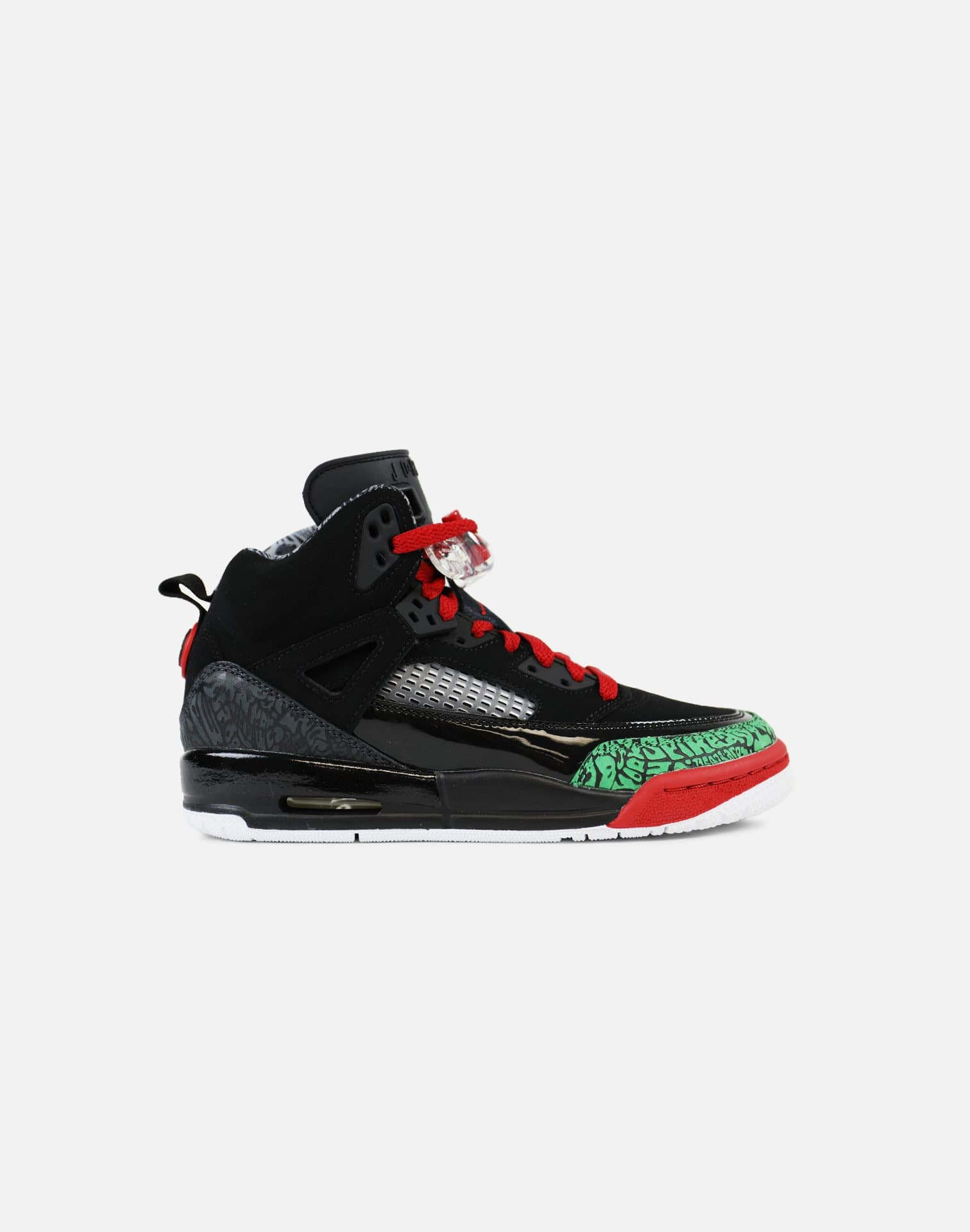 Jordan Spizike Grade-School (Black/Classic Green-White-Varsity Red)