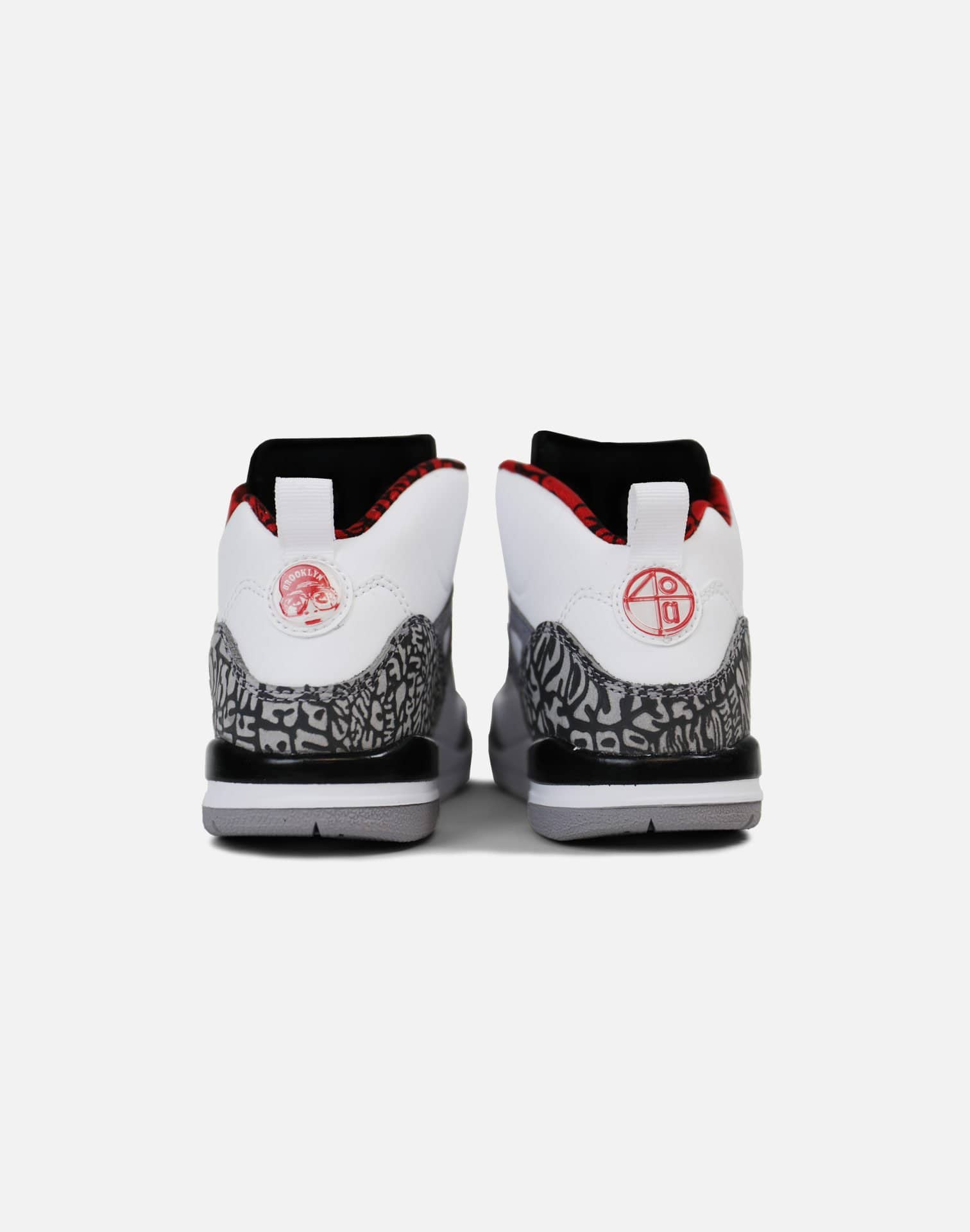 Jordan Spizike Pre-School (White/Varsity Red-Cement Grey)