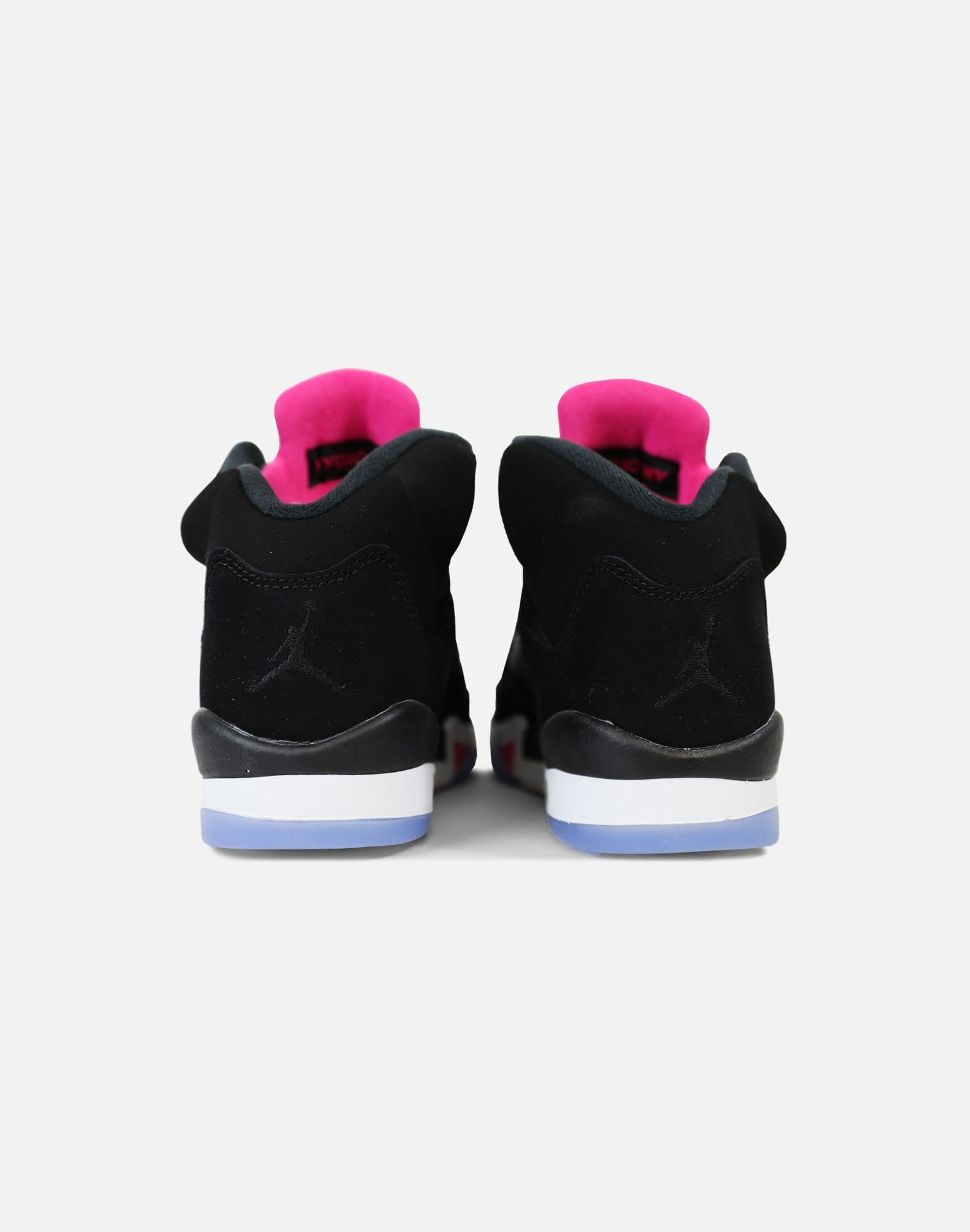 Jordan Air Jordan 5 Retro 'Deadly Pink' Grade-School (Black/Black-Deadly Pink-White)