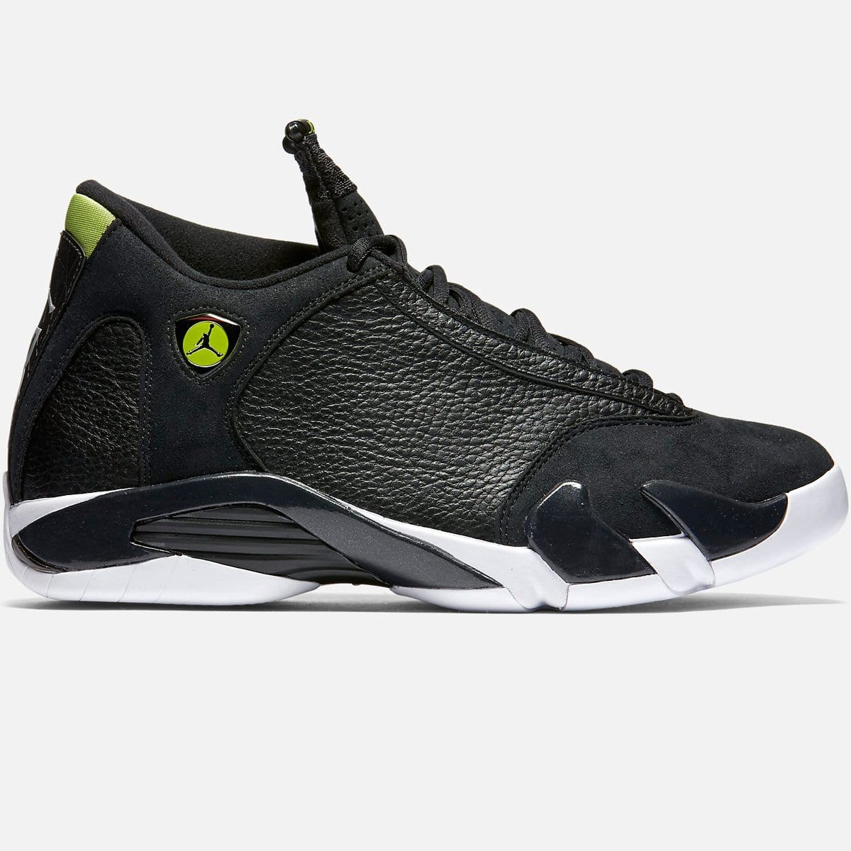 Jordan Air Jordan 14 Retro 'Black/Vivid Green' (Black/Vivid Green-White)