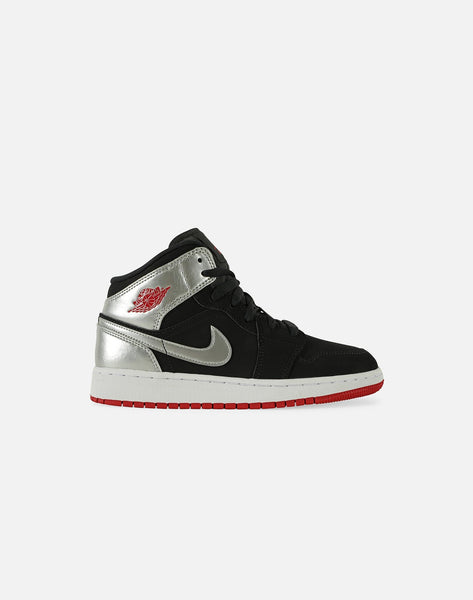 AIR JORDAN 1 MID GRADE-SCHOOL