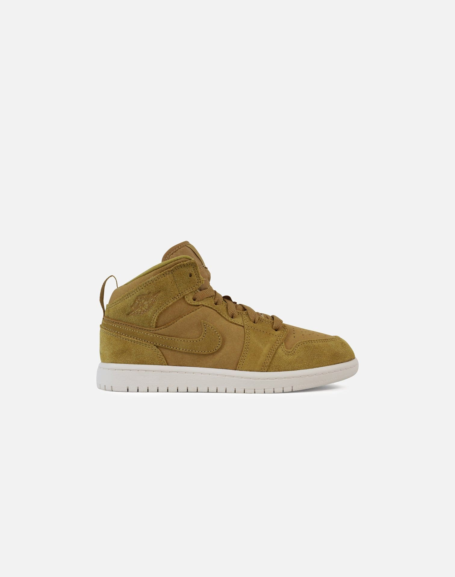 Jordan Retro 1 Mid Pre-School (Golden Harvest/Sail)