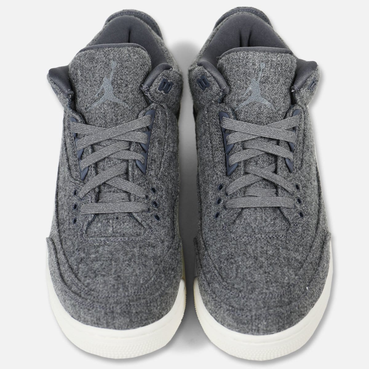 Jordan Air Jordan 3 Retro 'Wool' (Dark Grey/Dark Grey-Sail)