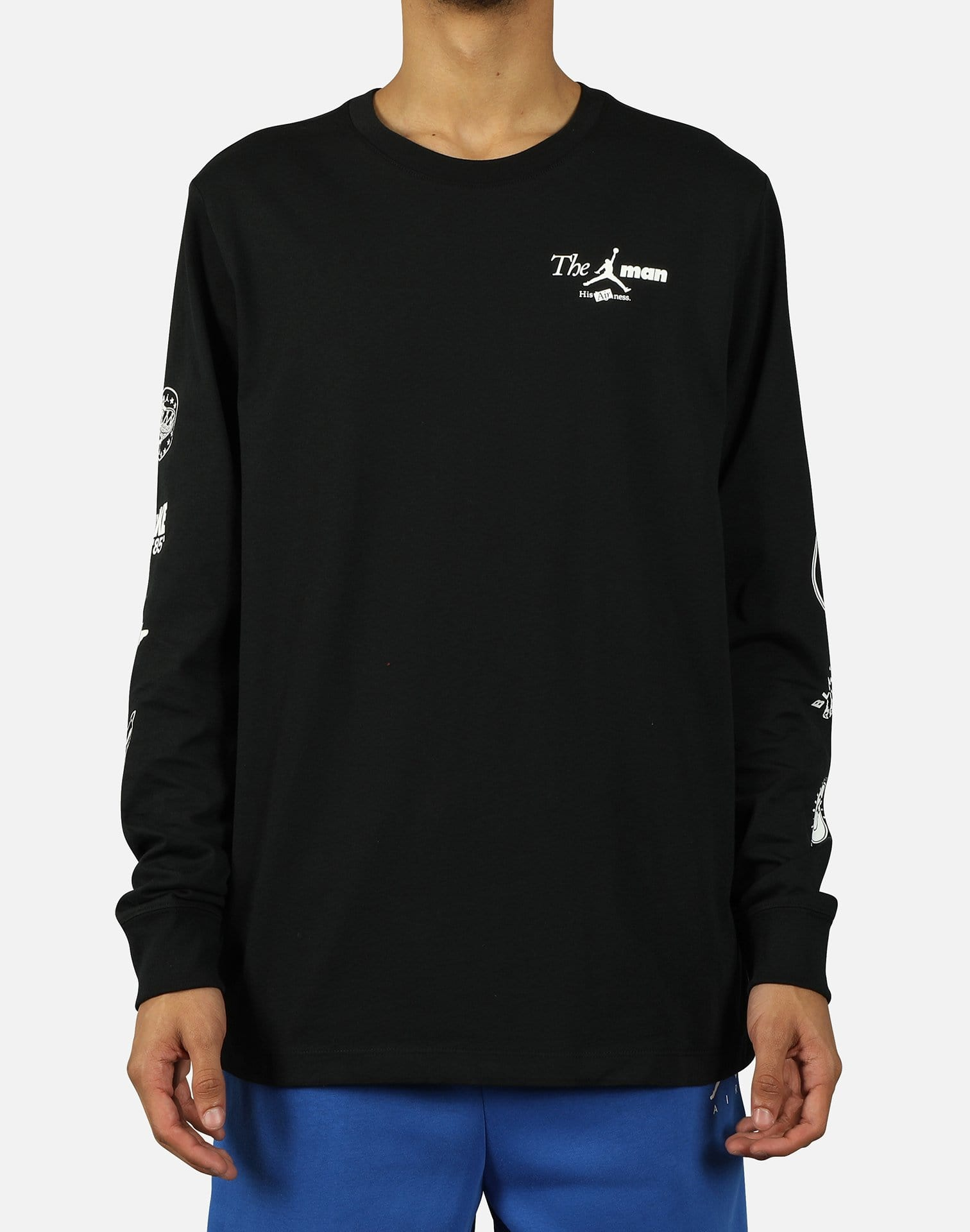 """THE MAN"" LONG-SLEEVE TEE"