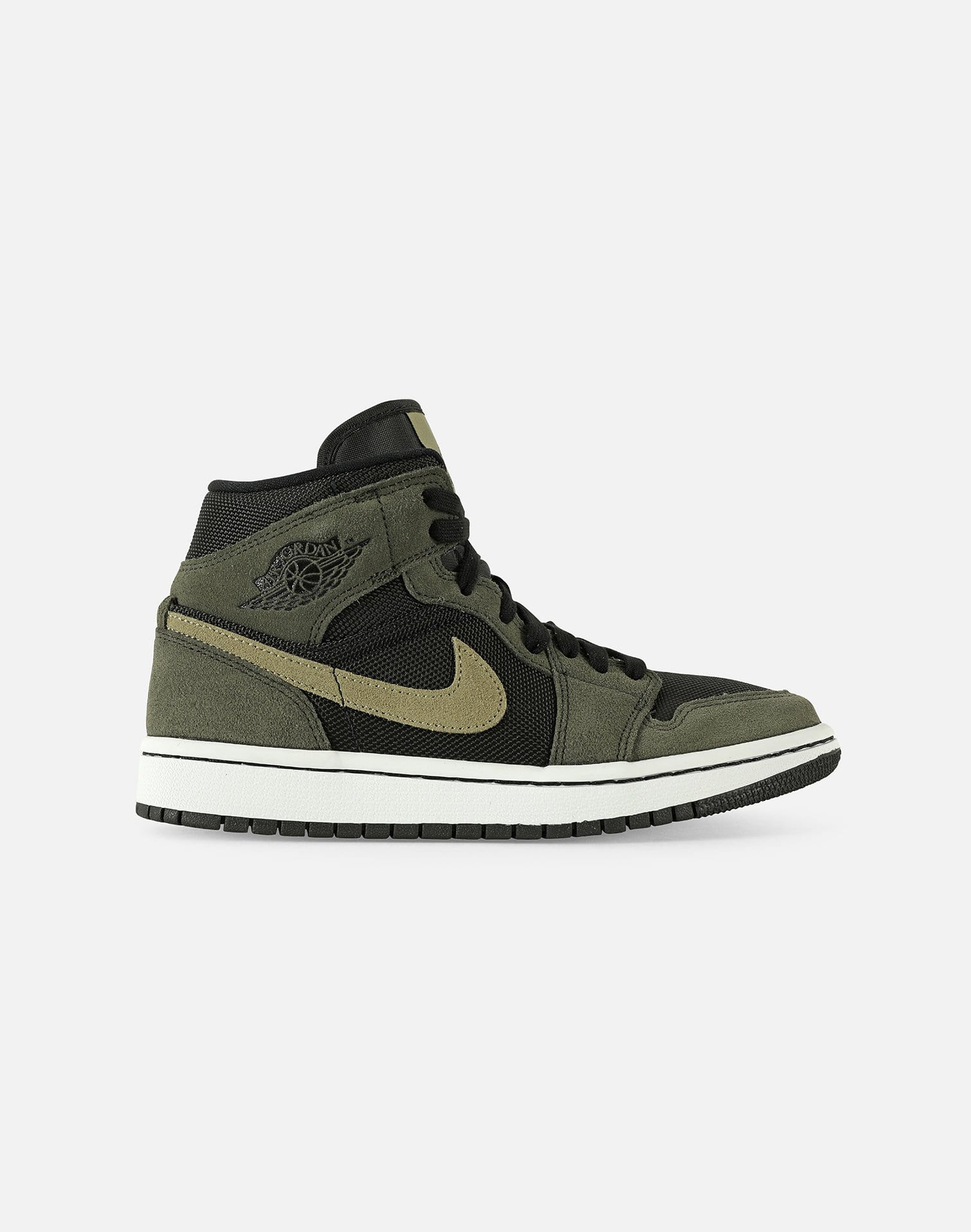 air jordan 1 mid kaki