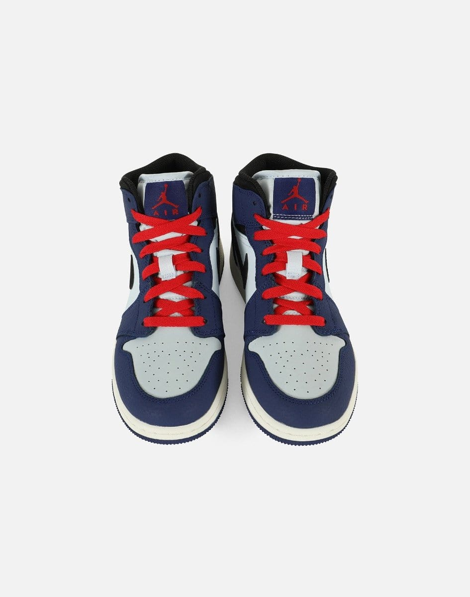 Jordan Men's Air Jordan 1 Mid 'Spider Man' Grade-School