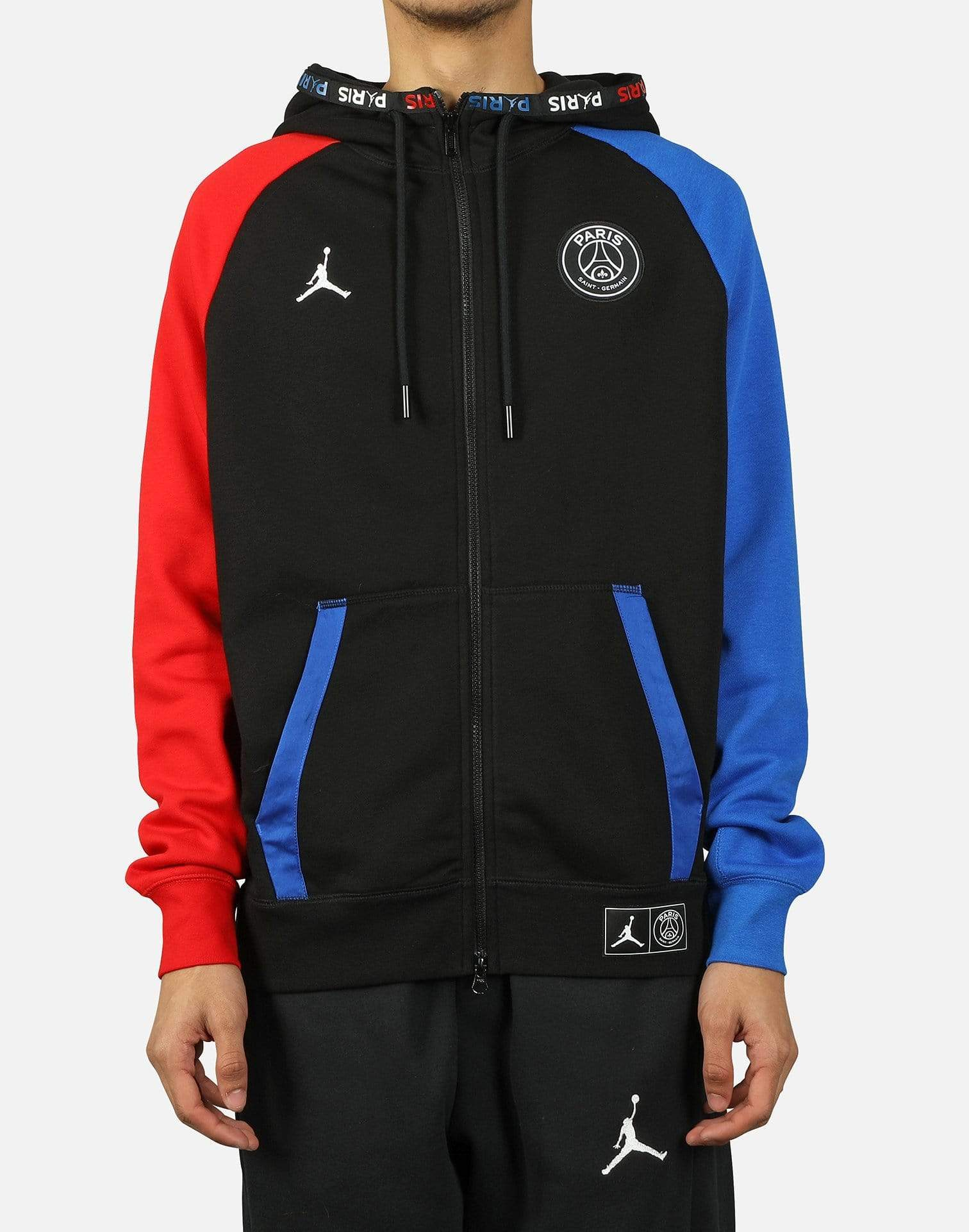 Jordan MJ PSG BLACK CAT FULL-ZIP HOODIE