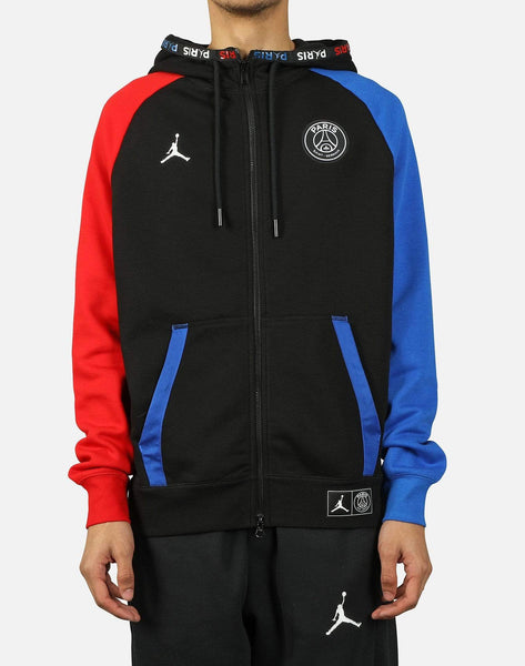 MJ PSG BLACK CAT FULL-ZIP HOODIE
