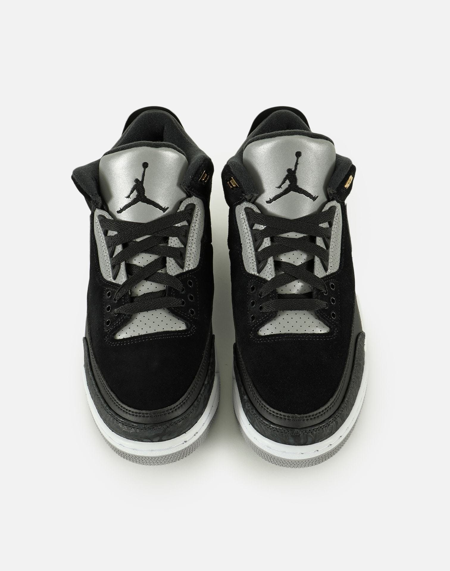 Jordan Men's Air Jordan Retro 3 Tinker 'Black Cement'