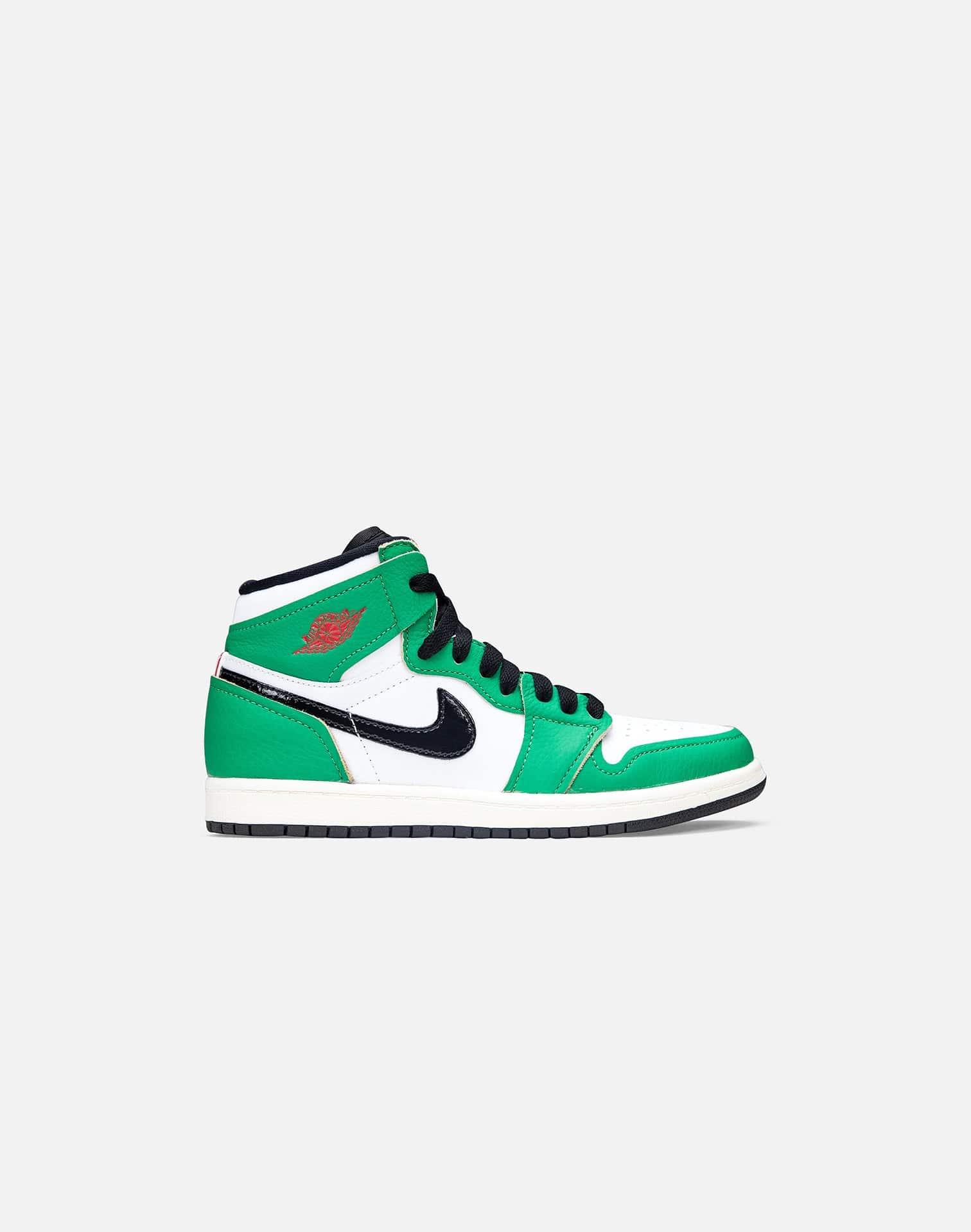 Jordan AIR JORDAN RETRO 1 HIGH 'LUCKY GREEN' PRE-SCHOOL