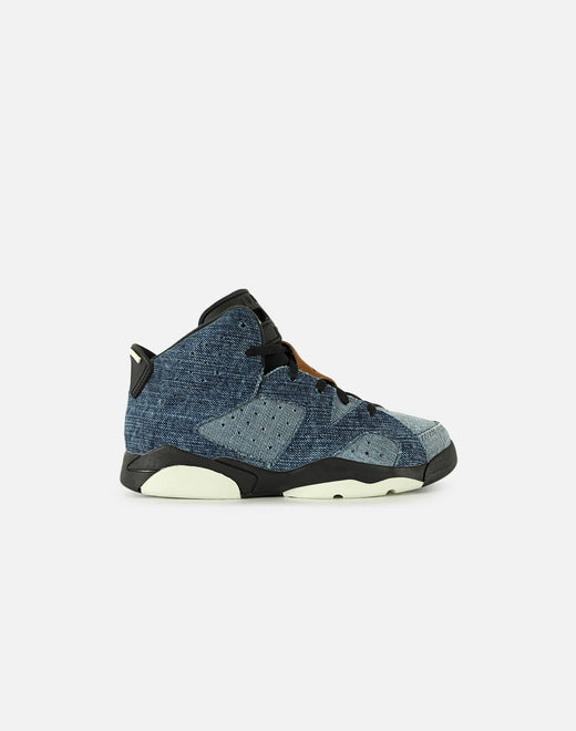 AIR JORDAN RETRO 6 'DENIM' PRE-SCHOOL