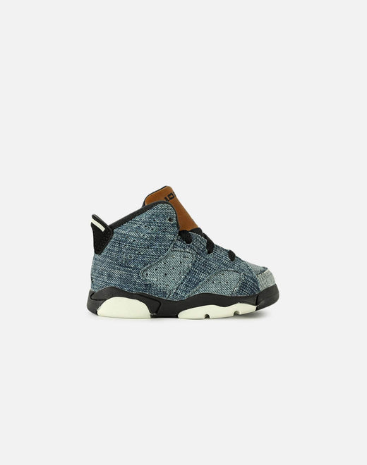 AIR JORDAN RETRO 6 DENIM 'INFANT'