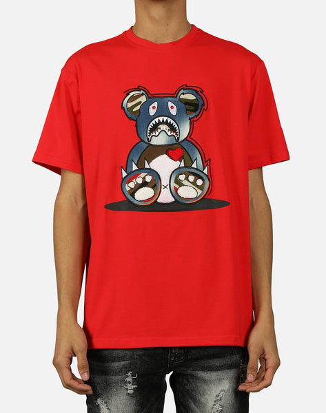 BEAR TEETH DENIM FILL TEE