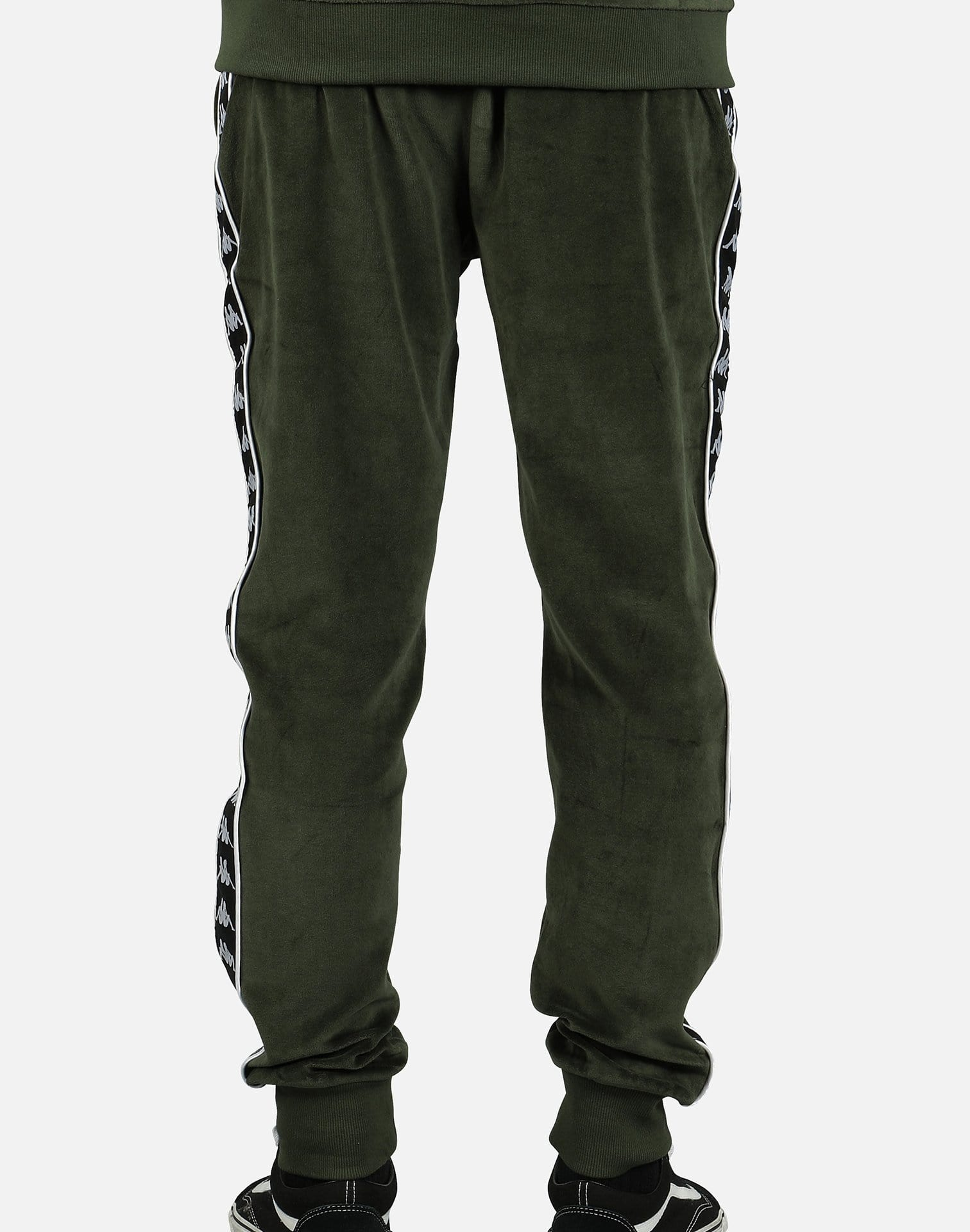 Kappa Men's Authentic Ayne Velour Pants