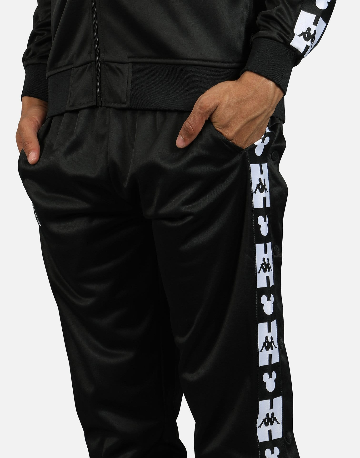 Kappa Men's Authentic Anthony x Disney Mickey Mouse Track Pants