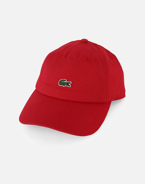SMALL CROC GABARDINE DAD CAP