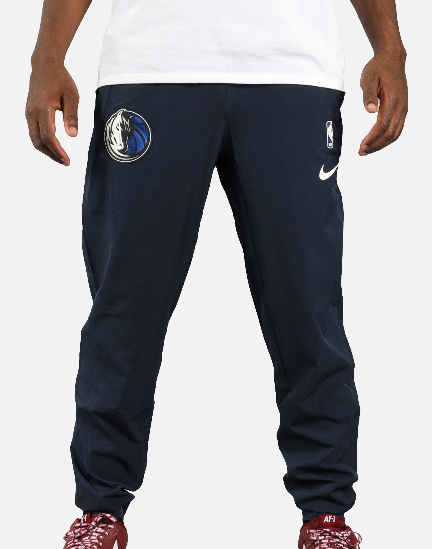 Nike NBA Dallas Mavericks Showtime Pants (Obsidian/White)
