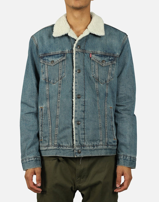 Levi's Men's Sherpa Trucker Denim Jacket