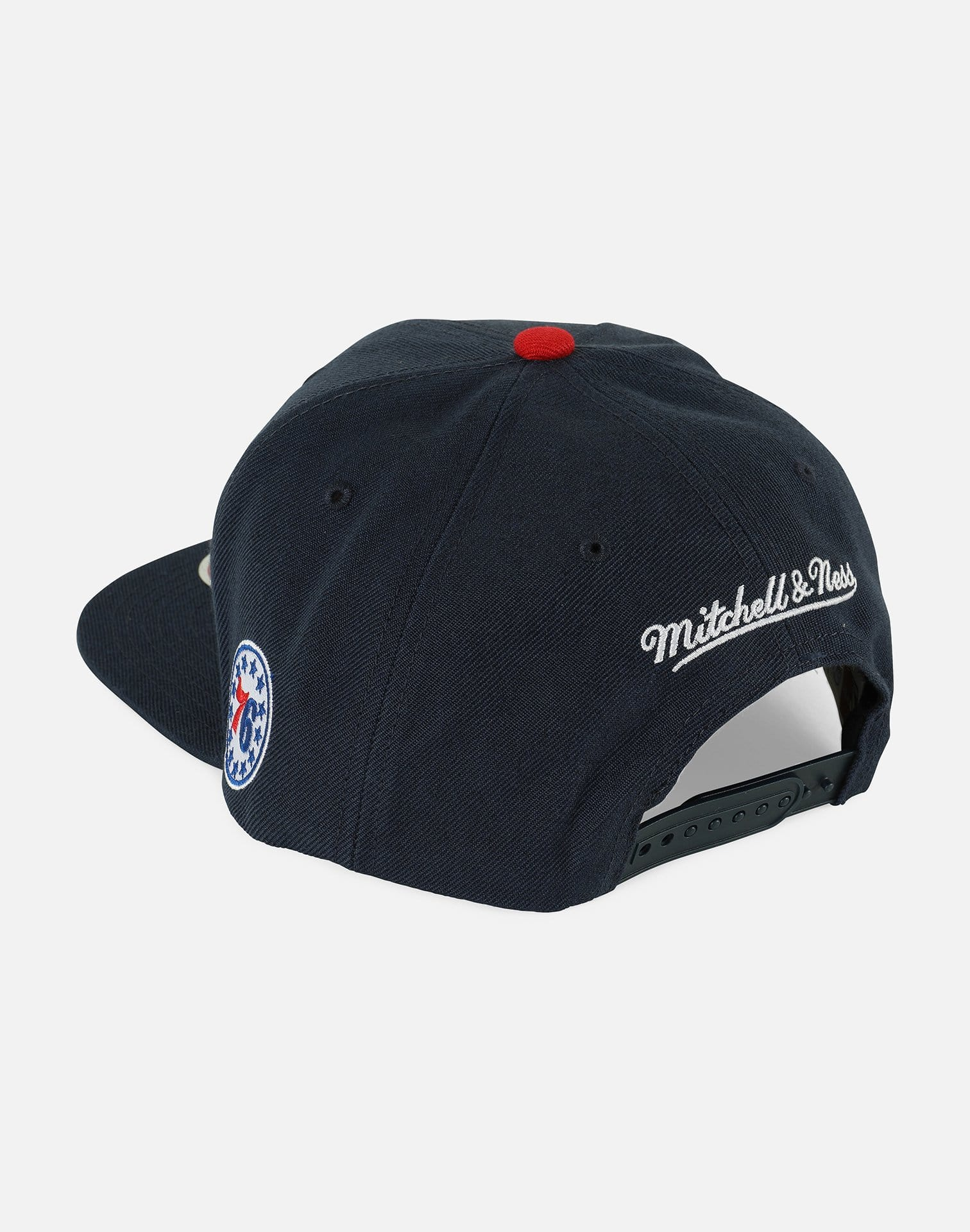 Mitchell & Ness NBA Philadelphia 76ers Team SMU Snapback Hat