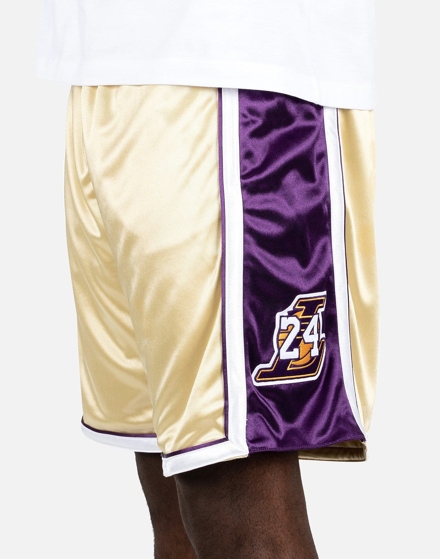 NBA LA LAKERS KOBE BRYANT AUTHENTIC HALL OF FAME JERSEY SHORTS – DTLR