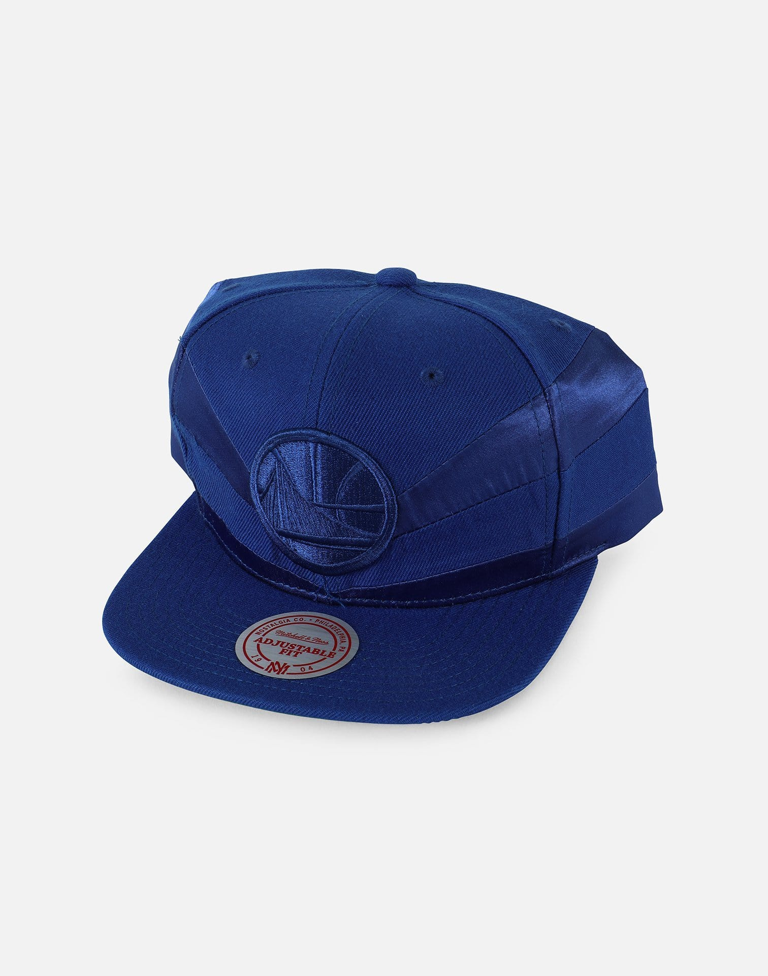 Mitchell & Ness NBA Golden State Warriors Satin Slash Snapback