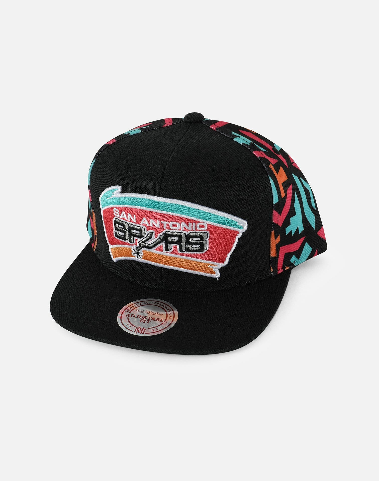Mitchell & Ness NBA San Antonio Spurs Color Snapback Hat