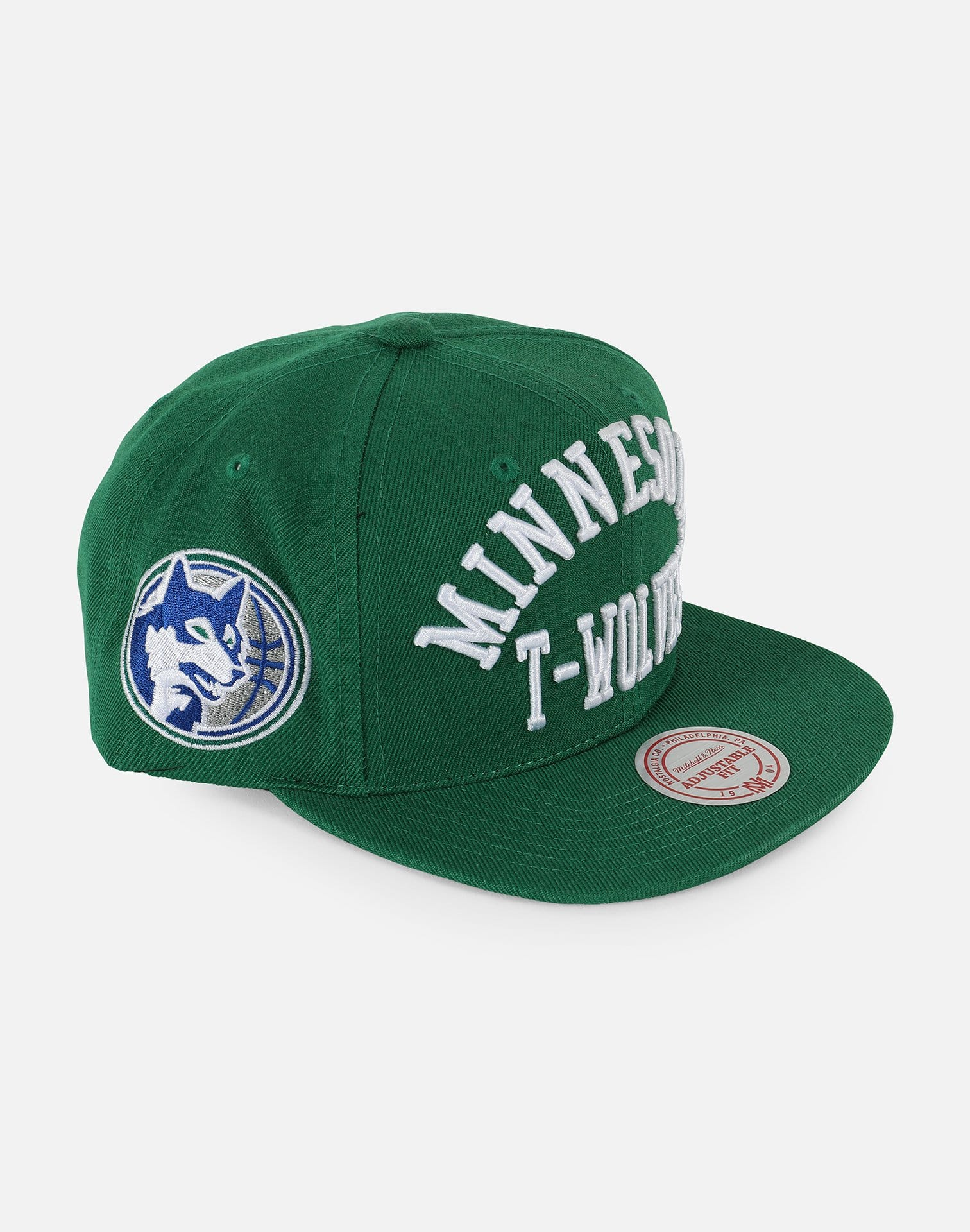 Mitchell and Ness Minnesota Timberwolves Snapback Hat