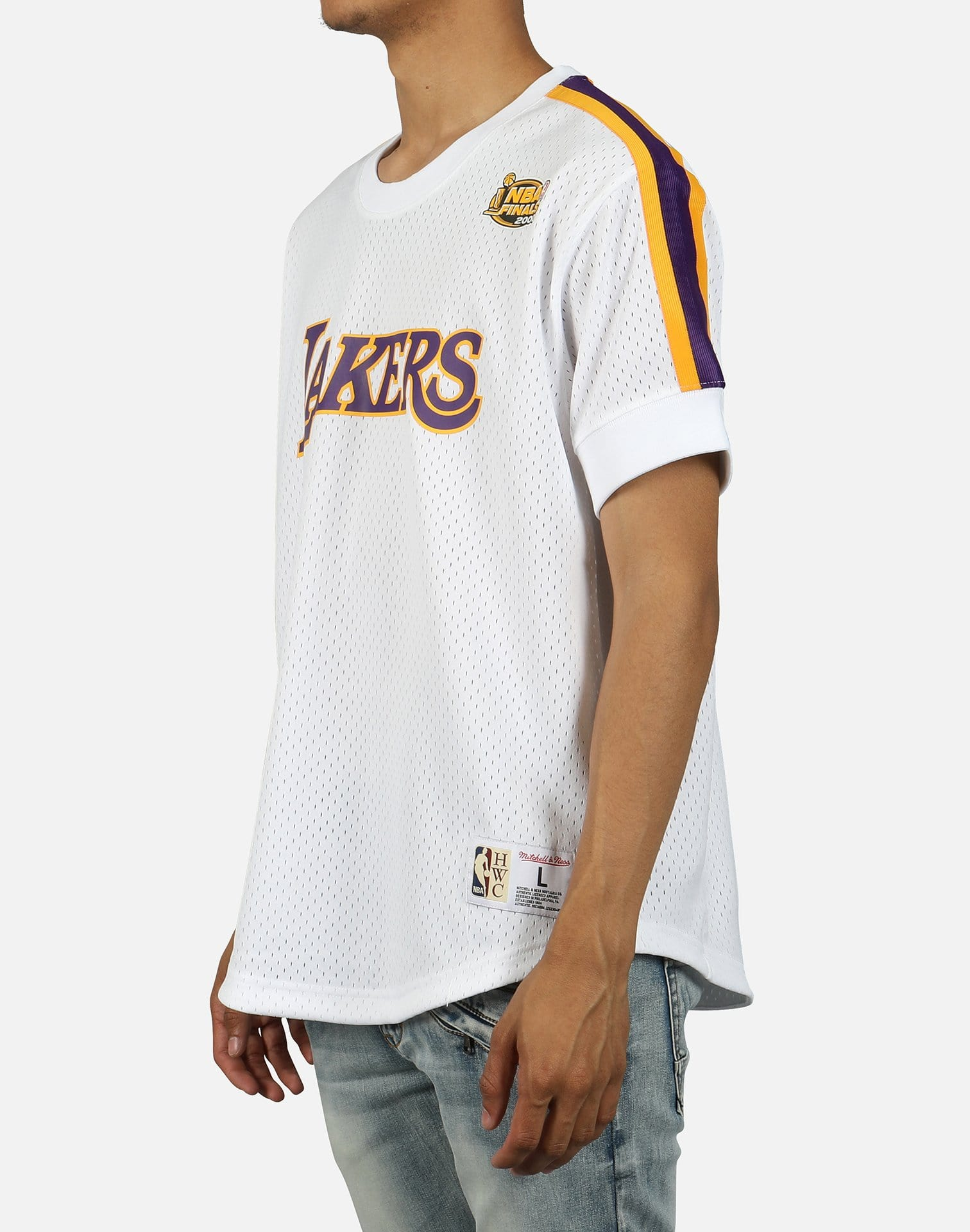 Mitchell & Ness Men's NBA Finals 2000 Los Angeles Lakers Mesh Jersey Shirt