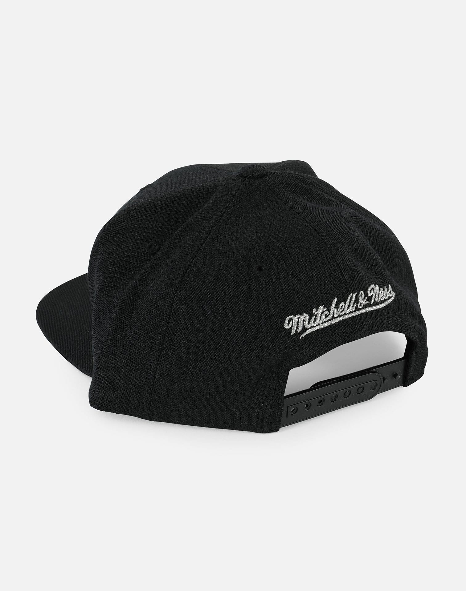 Mitchell and Ness San Antonio Spurs Wool Snapback