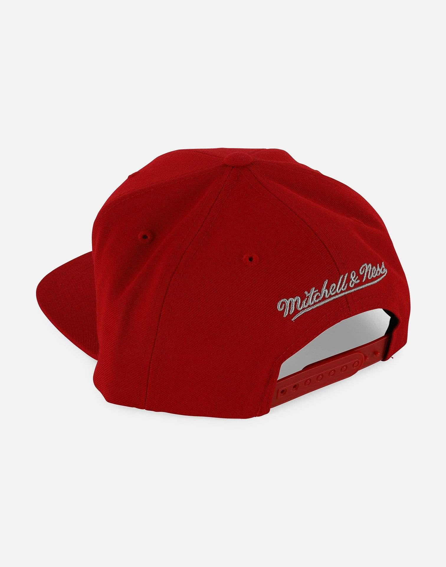 Mitchell & Ness NBA Houston Rockets Basic Logo Snapback Hat