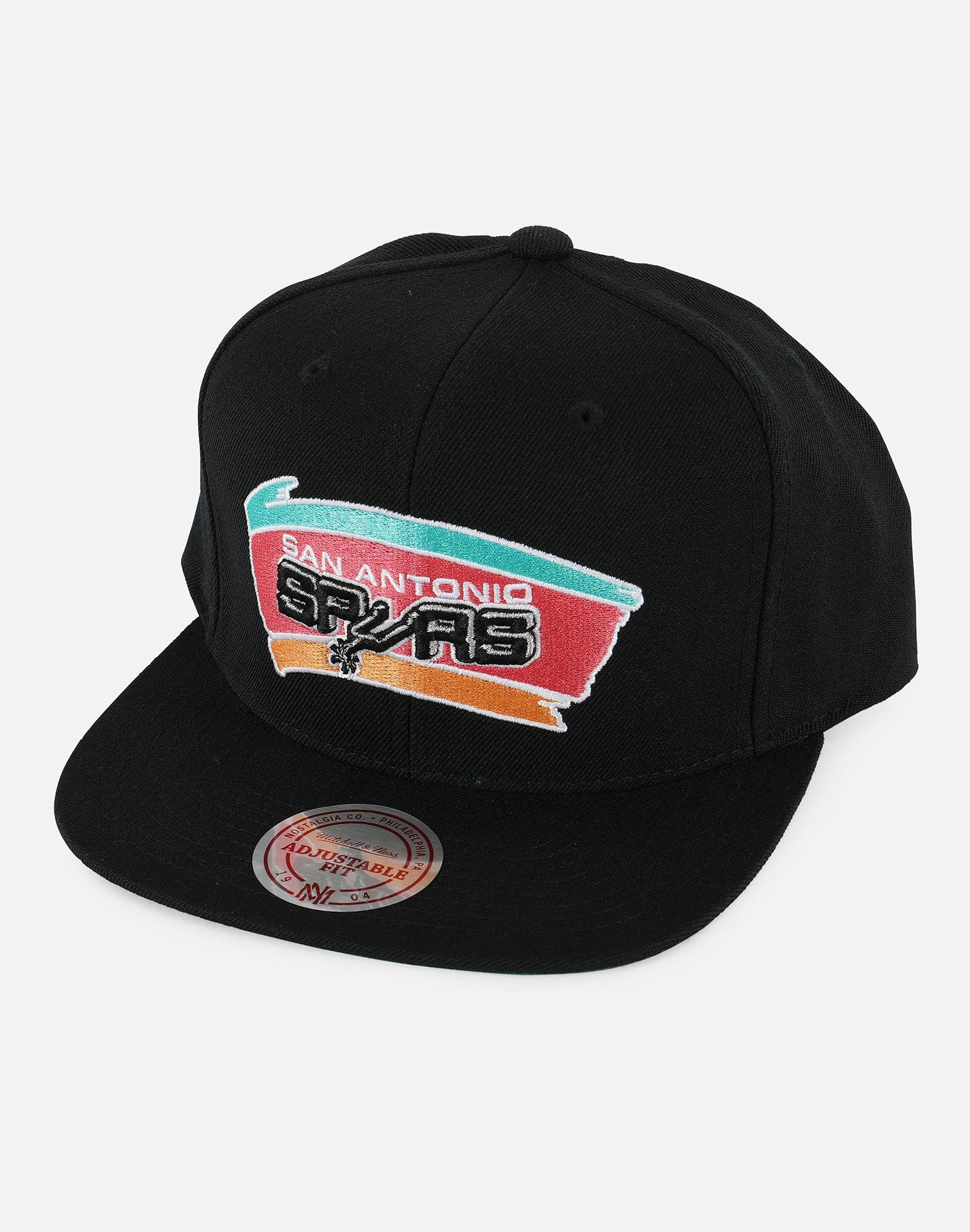 Mitchell & Ness NBA San Antonio Spurs Wool Snapback Hat