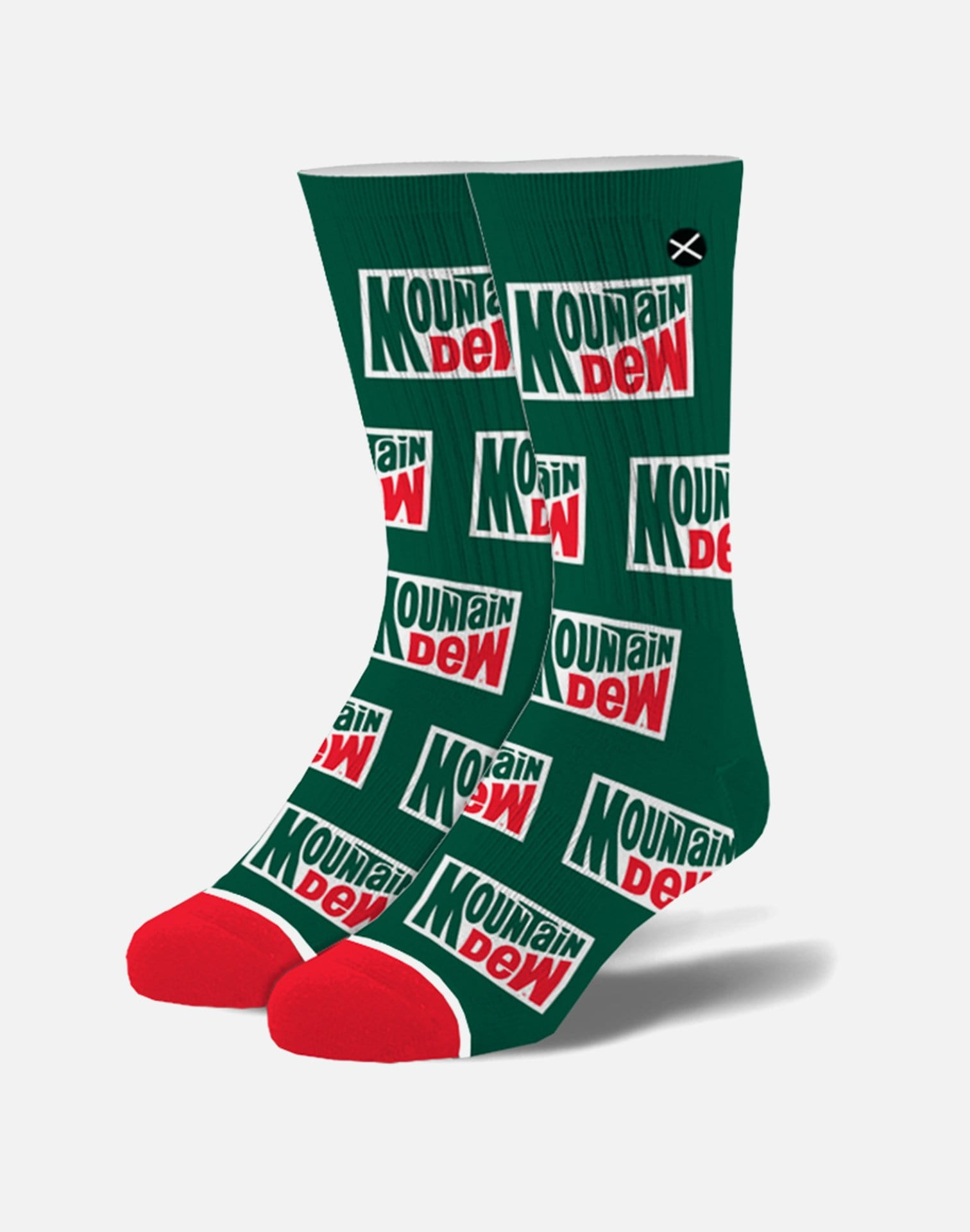 Odd Sox Mountain Dew Retro Crew Socks